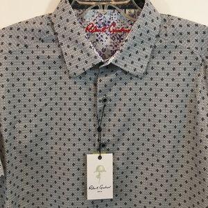 NWT Robert Braham Scenic Byways Button Shirt Sz XL